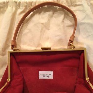 7382ed922136 Mansur Gavriel Bags - Mansur Gavriel Brick Suede Soft Elegant Bag New!
